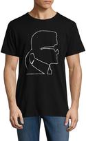 Karl Lagerfeld Men's Head Cotton Tee