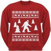 Old Glory Sasquatch Ugly Christmas Sweater Crew Neck Sweatshirt