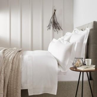 The White Company Richmond Duvet Covers, White, Single