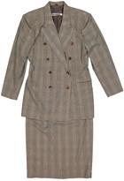 Jil Sander Grey Wool Jackets