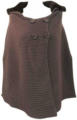 Agnona Grey Cashmere Jacket for Women