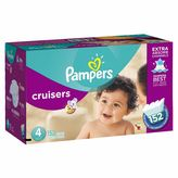 Pampers CruisersTM 152-Count Size 4 Economy Pack Plus Disposable Diapers