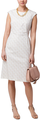 Peserico Geometric Pattern Print C Dress