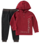 Calvin Klein Two-Piece Hood Jacket and Pants