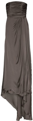 Alexandre Vauthier Draped Bustier Gown