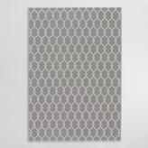 Gray Lace Indoor Outdoor Area Rug