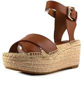 Coach Primrose Women US 7.5 Brown Wedge Sandal