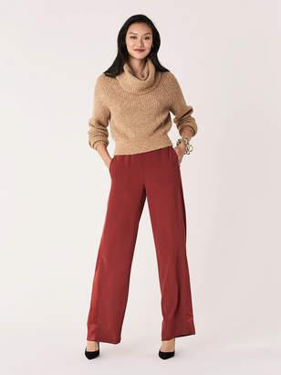 Diane von Furstenberg Ciara Satin Crepe Pants