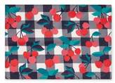 Draper James Set of 4 Cherry Print Placemats