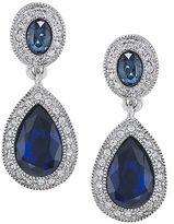 Carolee The Bethany Crystal Drop Earrings