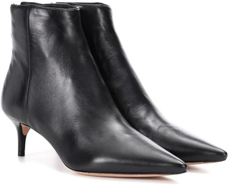 Alexandre Birman Kittie leather ankle boots