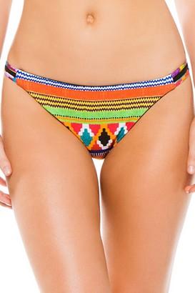 Nanette Lepore Women's Mambo Vamp Reversible String Tie Side Bikini Bottom
