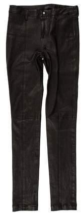 Diesel Leather Skinny Pants