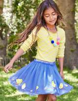 Boden Easter Applique Tulle Skirt