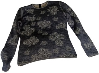 Ungaro Grey Wool Knitwear