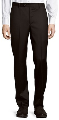 Saks Fifth Avenue Made In Italy Micronosphere Wool Trousers