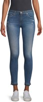 AG Jeans Mid-Rise Ankle Medium Wash Legging Jeans