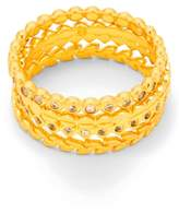 Gorjana Women's Stackable Set Of 4 Band Rings