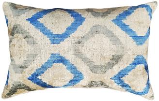 Orientalist Home Sara Lumbar Pillow - Blue