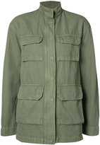 Nili Lotan relaxed fit military jacket - women - Cotton/Linen/Flax - L