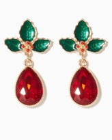 Charming charlie Deck The Halls Statement Earrings
