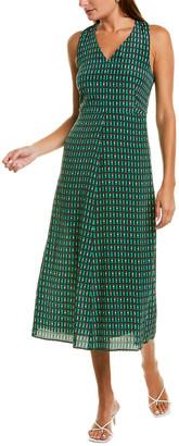 Max Mara Empoli Silk A-Line Dress