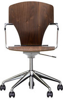 Design Within Reach Egoa Task Chair Soft Wheels - Wood