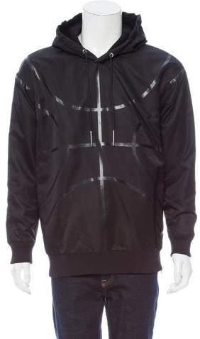 Givenchy Basketball Print Pullover Jacket