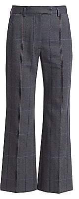 Acne Studios Women's Pantsyne Check Suit Trousers