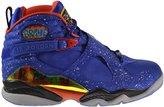 """Jordan Air 8 Retro """"Doernbecher"""" Mens' Shoes Hyper Blue/Electro Orange-Black 729893-480 (10 D(M) US)"""