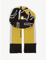 Givenchy Logo print scarf