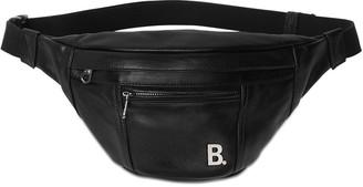 Balenciaga Leather Belt Bag W/Metal Logo Detail