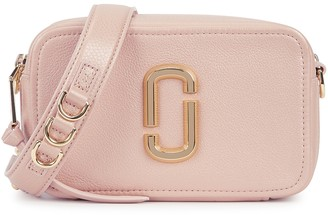 Marc Jacobs The Softshot 21 Blush Leather Cross-body Bag