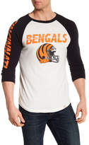 Junk Food Clothing Cincinnati Bengals Raglan Tee