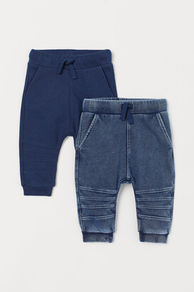 H&M 2-pack Joggers - Blue