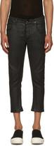 Rick Owens Black Cropped Detroit Jeans