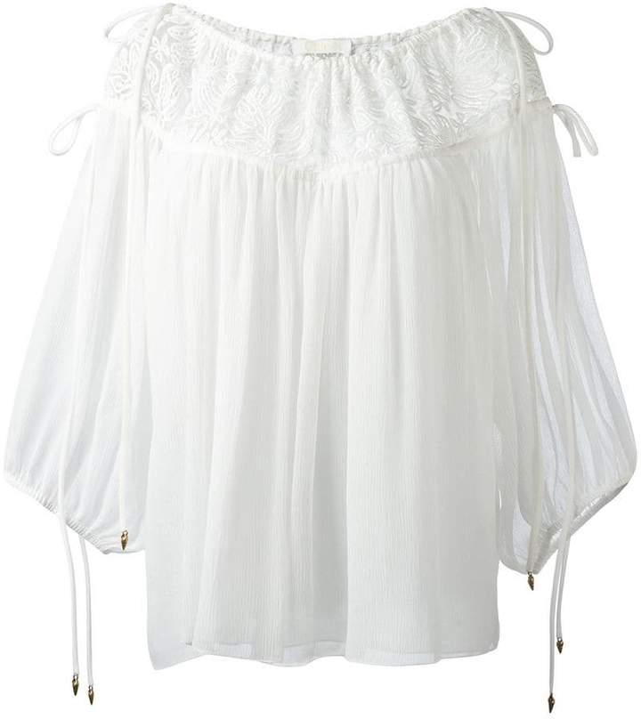 Chloé seersucker blouse