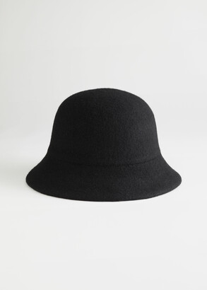 And other stories Wool Blend Structured Bucket Hat