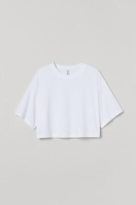 H&M Cropped T-shirt