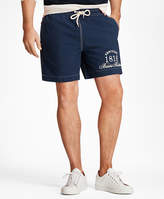 "Brooks Brothers Montauk 6"" Logo Swim Trunks"