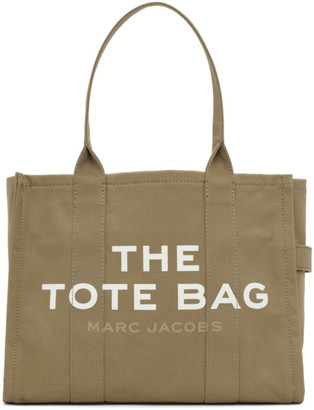 Marc Jacobs Khaki The Traveler Tote