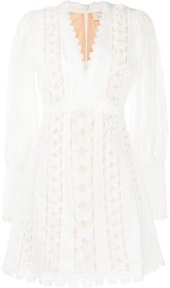 Zimmermann Super Eight embroidered dress