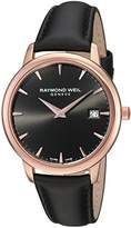 Raymond Weil Women's 'Toccata' Swiss Quartz Stainless Steel and Satin Casual Watch