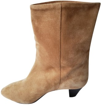 Etoile Isabel Marant \N Camel Suede Ankle boots