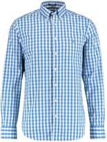 Gant HEATHER OXFORD GINGHAM Shirt nautical blue