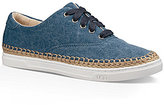 UGG Eyan II Jute Stitched Canvas Sneakers