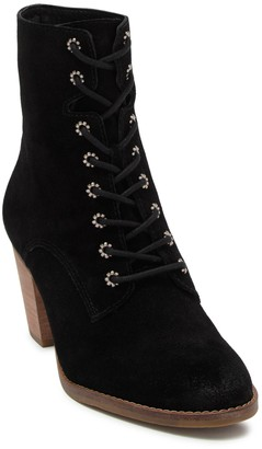Frye & Co Allister Suede Lace-Up Bootie