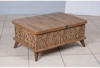 Bungalow Rose Fennel Lift Top Coffee Table