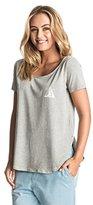 Roxy Junior's Tulip Side Washed Maison Du Su Screen T-Shirt