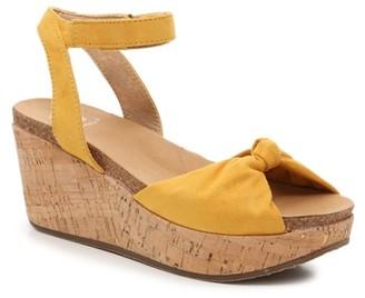 Yellow Box Gwynie Wedge Sandal